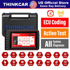 THINKTOOL Automotive All System Bi-directional Car OBD2 Scanner TPMS ECU Coding