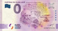 Billet 0 Euro - FR Château du Clos Lucé, les inventions - 2020-7  - Anniversary