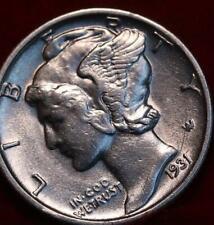Uncirculated 1931-S San Francisco Mint Silver  Mercury Dime