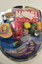 NEW HTF MARVEL UNIVERSE MIGHTY BEANZ 2010 Series 1 4-Pack ironman