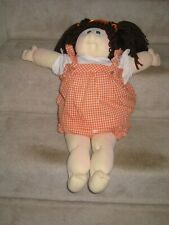"1978 Cabbage Patch Little People Brown Hair Blue Eyes Xavier Roberts 23"" Doll"