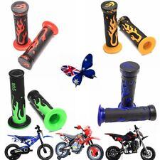 "22mm 7/8"" Handle Grips Handlebar Dirt Bike Motorcycle ATV Cool Rubber Grips AU"