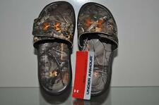 Under Armour Ignite IV Realtree Camo Boys Slides 1252566 See Sizes NWT