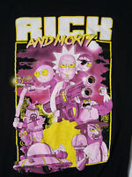 Rick and Morty Adult Swim T Shirt S