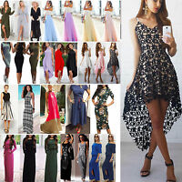 Womens Evening Party Prom Clubwear Long Maxi Dress Holiday Casual Beach Sundress
