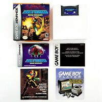 Metroid: Zero Mission (Game Boy Advance, 2004) Authentic Complete Tested & Works