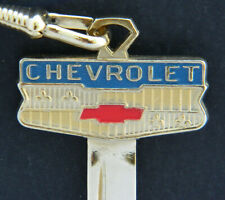 CHEVROLET GOLD WIDE Bowtie CREST KEY GM 1935 thru 1966 Vintage Bel Air