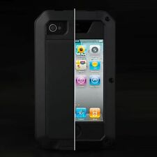 Waterproof Shockproof Aluminum Gorilla Metal Cover Case for Apple iPhone 4 4S 5s