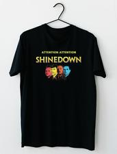Shinedown American Rock Band Attention Attention World Tour T-Shirt M-2XL