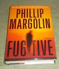 FUGITIVE by Phillip Margolin 2009 HC/DJ ~ 1st Edition 1st Printing