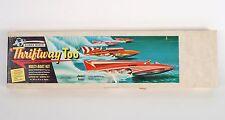 Dumas Boats THRIFTWAY TOO Mahogany Hydroplane Model Multi-Boat Kit - Partial Kit