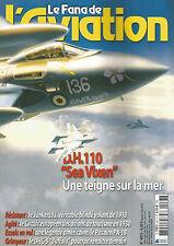 """FANA DE L'AVIATION N°487 D.H.110 """"SEA VIXEN"""" / JUNKERS J.I / PITCAIRN PA-18"""