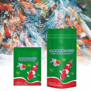 Ornamental Fish Food Goldfish Carp Tropical Nutrition Delicious 30 100g Eggfood