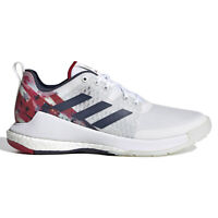 Adidas Crazyflight USAV Womens Volleyball Shoes, White Red Navy USA, Size 5.5