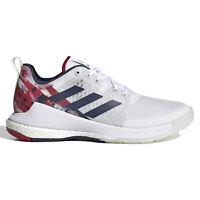 Adidas Crazyflight USAV Womens Volleyball Shoes, White Red Navy USA, SIZE 8