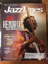 Jimi Hendrix Jazz Times Magazine August 2001 Les Paul Nels Cline
