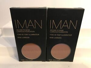2X IMAN Second To None Luminous Foundation - Earth 2 NEW