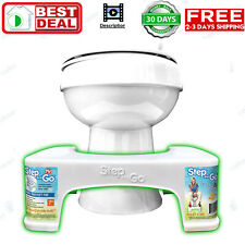 "7"" Toilet Squatty Step Stool Bathroom Potty Squat For Proper Toilet Posture"