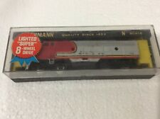 n gauge Bachmann F7 Santa Fe diesel locomotive