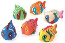 Jumbo Aquatic Fish Squirters - 6 Pack - Swimming Pool Beach Bath Time FUN