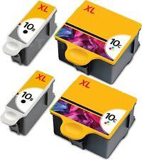 4 TINTE PATRONEN für KODAK 10B 10C ESP5 ESP5250 ESP6150 ESP7250 ESP9250 HERO 9.1
