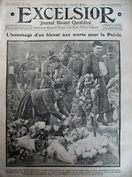 WW1 Tribute Aux Dead Halloween Cemeteries Ivry Doll Movie Excelsior 2/11/1914