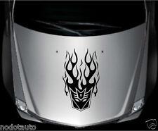 Car Flames Decepticon Transformers 13''x23'' Vinyl Hood Decal Motor sticker TF27