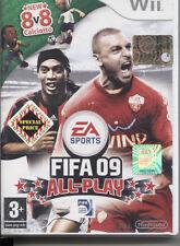 FIFA 09 ALL-PLAY NINTENDO WII NUOVO E SIGILLATO, EDIZIONE ITALIANA
