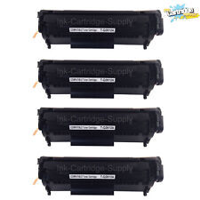 4x Q2612A 12A Black Toner Cartridge for HP LaserJet 1018  1020 1022 1012n