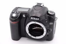 Nikon D50 6.1 MP Digital SLR Camera - Black (Body Only) - NO ACCESSORIES