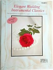 """Elegant Wedding Instrumental Classics"" for Trumpet, with Cd Piano Accompaniment"