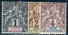 COTE D IVOIRE 1892 Yvert 1-3 ** POSTFRISCH (F4821