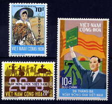 VIETNAM, SOUTH Sc#475-7 1974 Agriculture Day, President Nguyen Van Chieu MNH