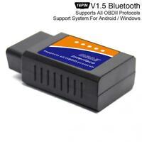 ELM327 1.5 Mini Bluetooth OBD2 Scan Diagnostic Tool Scanner Wireless Code Reader