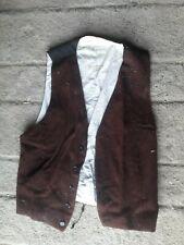 gilet velours  populaire mode vintage paysan ancien