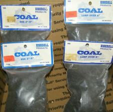 HO SCALE  4 BAGS COAL  2 SIZES  EGG & LUMP  HIGHBALL PRODUCTS  Original Packages