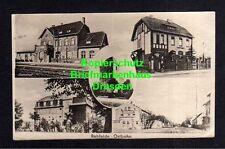 114480 AK Rehfelde Ostbahn 1953 Bahnhof Postamt Schule Dorfstraße Kirche