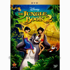 Disney Mowgli Baloo Sequel The Jungle Book 2 II on DVD English French Spanish