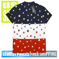 Polo Ralph Lauren Men's NWT 100% Cotton USA STARS RWB T-Shirt LARGE MSRP $79.50