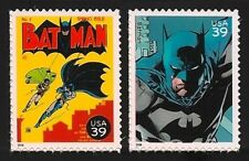 Batman #1 The Dark Knight Robin Adam West Gotham City US Stamps MINT CONDITION!