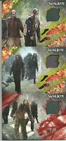 The Walking Dead Survival Box Set 3 walker Costume Relic Card 1/99 and 70/99