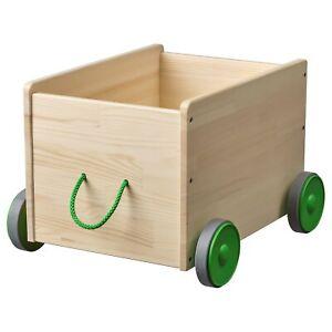 IKEA FLISAT Toy storage with wheels / trolley / organiser  for Children room NEW