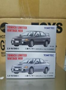 Tomica Tomytec TLVN Mitsubishi Lancer Evo IV lot of 2