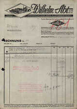 SCHORNDORF / WÜRTT., Rechnung 1941, Fabrik landwirtschaftlicher Geräte W. Abt