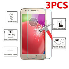 3X For Motorola Moto G7 6 Z2 Z3 Play Force Tempered Glass Screen Protector Saver