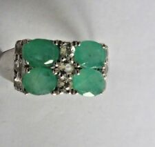 Emerald Ring size 7.75