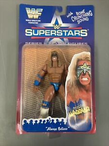 WWF Ultimate Warrior Jakks Series 2 1996 BCA WWE Wrestling Figure NXT ECW WCW