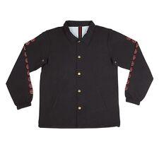 Independent Trucks Quatro Coach Windbreaker Jacket Black Medium