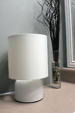 Table lamp by Sunbeam, White, Includes Led Bulb