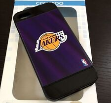 For iPhone SE 5S HARD TPU RUBBER HYBRID IMPACT ARMOR CASE LOS ANGELES LA LAKERS
